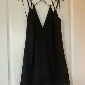 Express strappy cocktail dress black 4